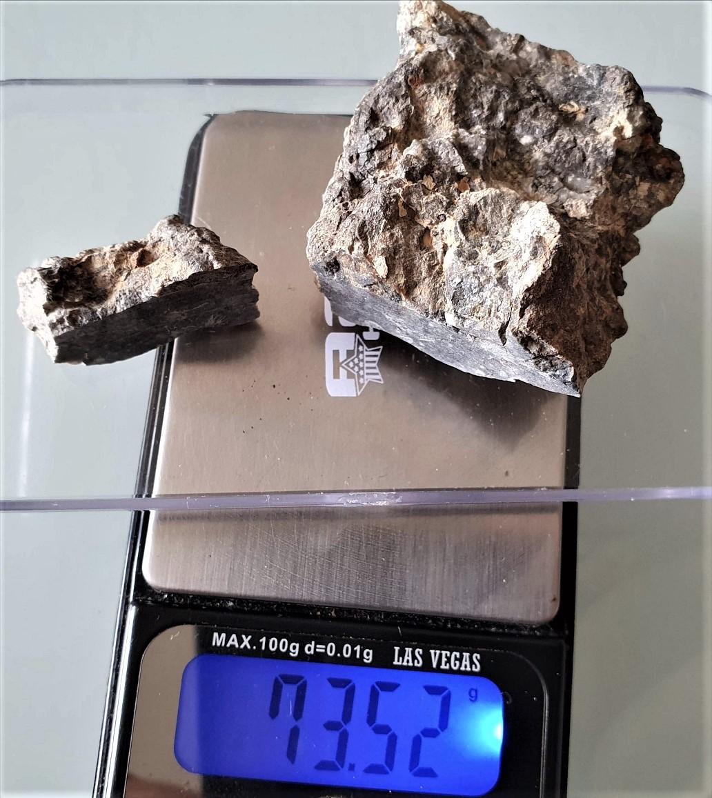 Achondrite lunaire meteorite