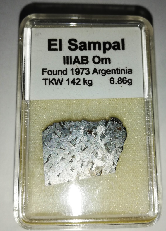El sampal meteorite