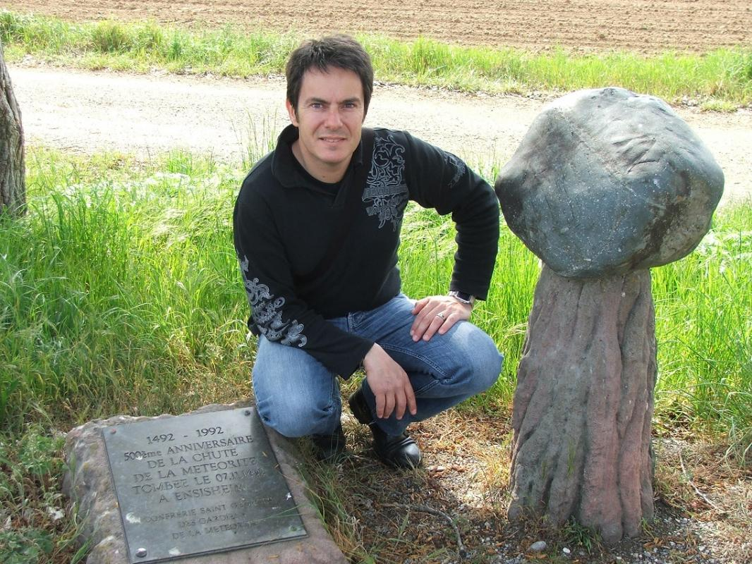 Ensisheim meteorite avril 2009