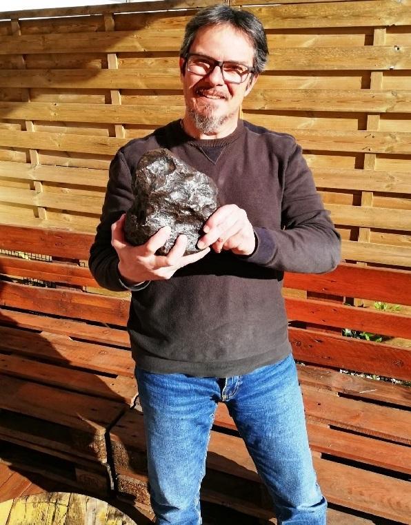 Fabrice kessler meteorite collection