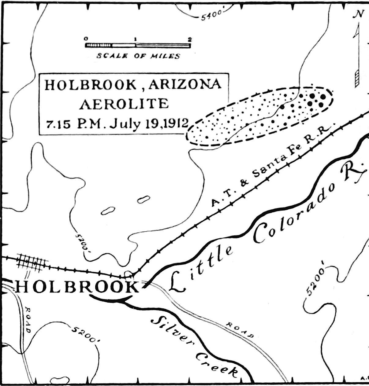 Holbrook strewnfield