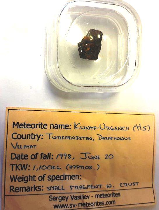 Kunya urgench meteorite