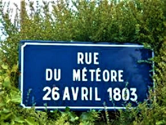 L aigle meteorite fall