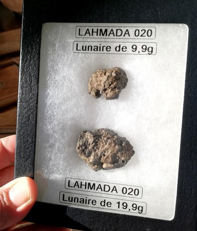 Lahmada lunar meteorite