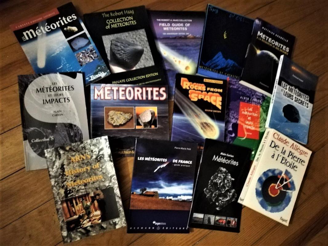 Livres meteorites