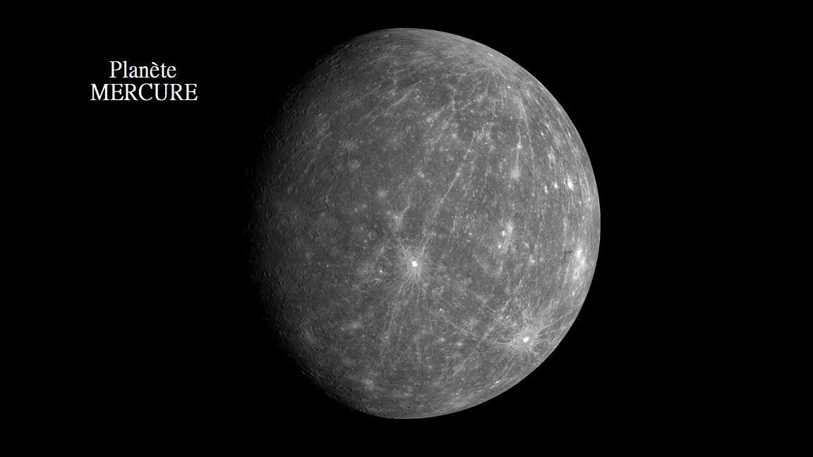 Mercure planete espace