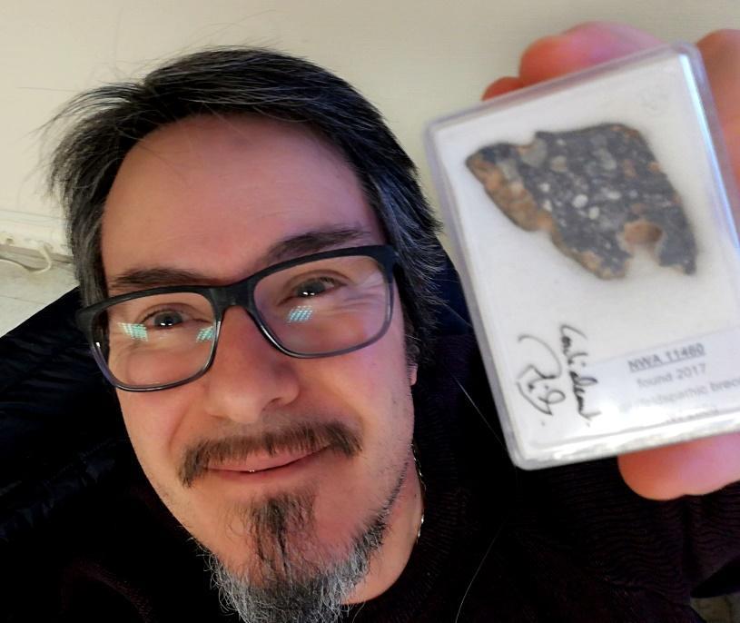 Meteorite lunaire