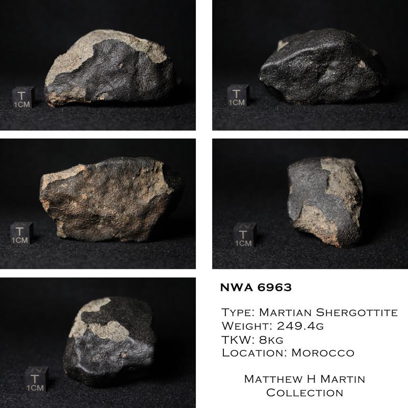 Meteorite martienne