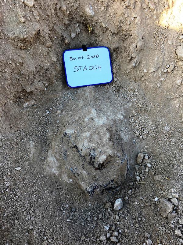 Meteorite saint aubin