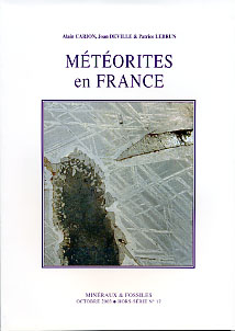 Meteorites en france