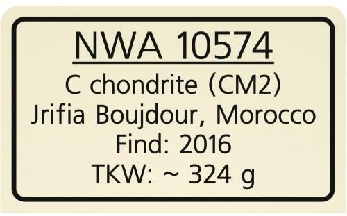 Nwa 10574 label 1