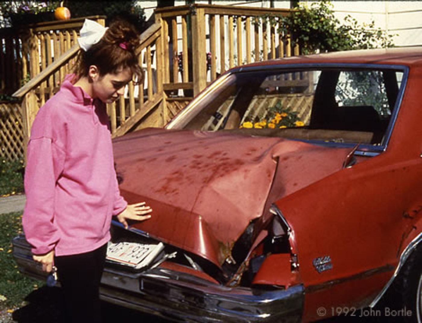Peekskill meteorite 9 10 1992