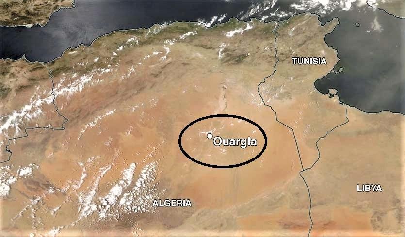 Sahara desert ouargla