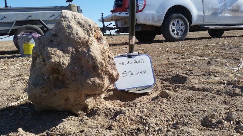 Saint aubin meteorite 1