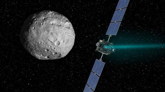 Sonda dawn arrivando al asteroide vesta 1024x576