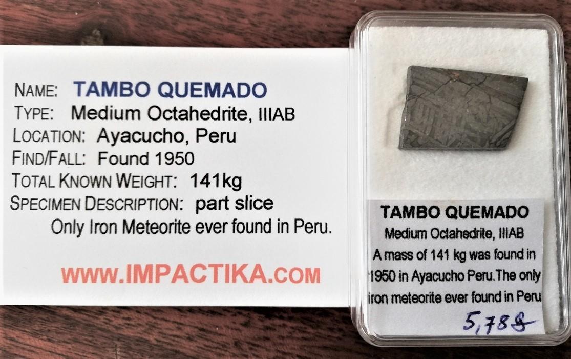 Tambo quemado meteorite