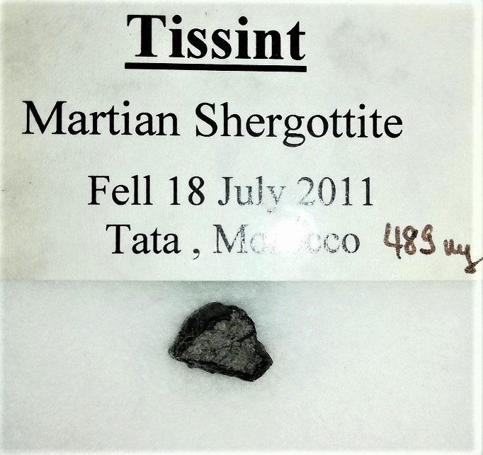 Tissint martian meteorite